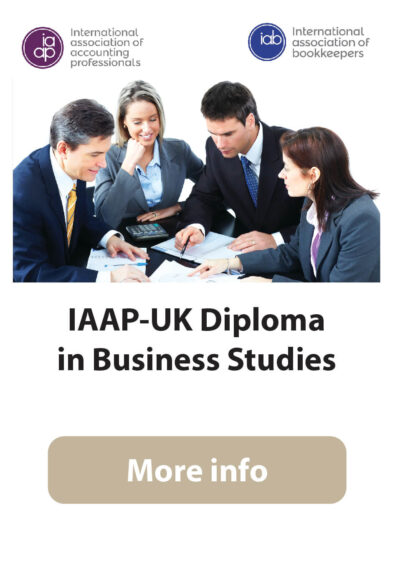 IAAP-UK Diploma in Business Studies (Online/ Conventional)