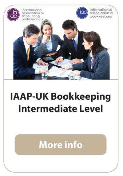 IAAP UK certificate in Bookkeeping