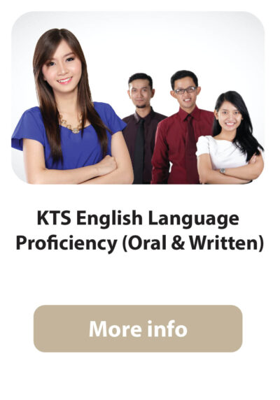KTS English language Proficiency