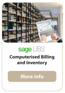SAGE-UBS Inventory Control & Billing
